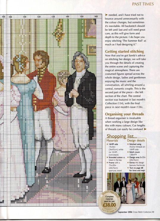 A Summer Ball mural (4 of ) by Sandy Littlejohns & Deborah Lester, Cross Stitch Arts | Gallery.ru / Фото #32 - 135 сентябрь 2006 - anfisa1