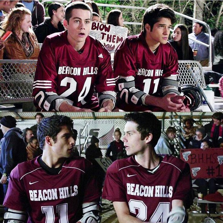 6 Years Of Teen Wolf and it also changed the logo on the uniforms