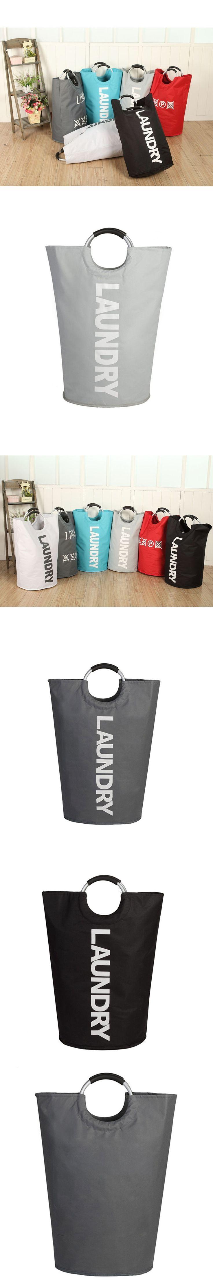Pop Up Laundry Bag Foldable Laundry Basket Large Laundry Hamper