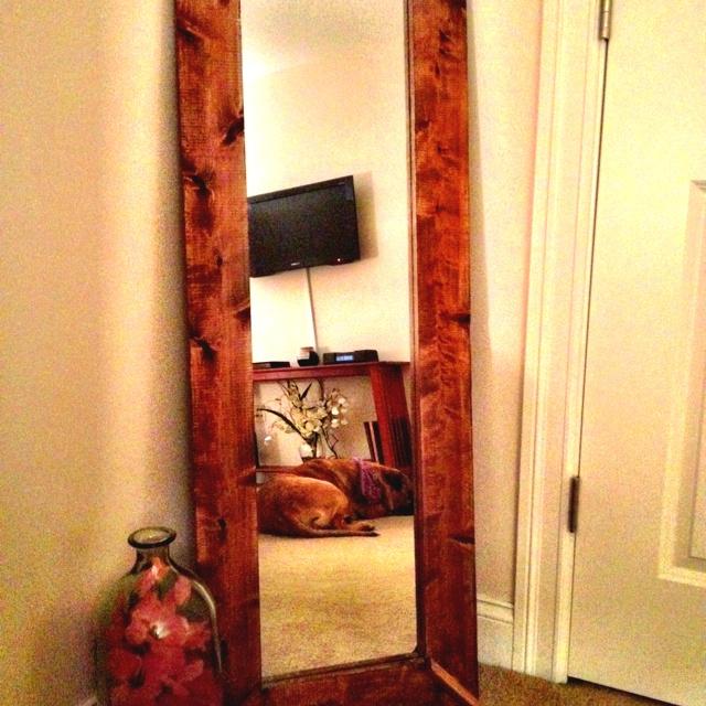 DIY mirror redo