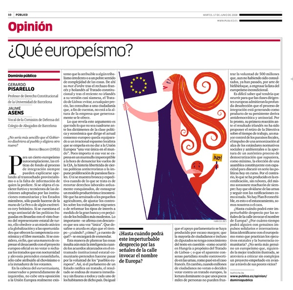 What europeism by Ivan Solbes, via Behance