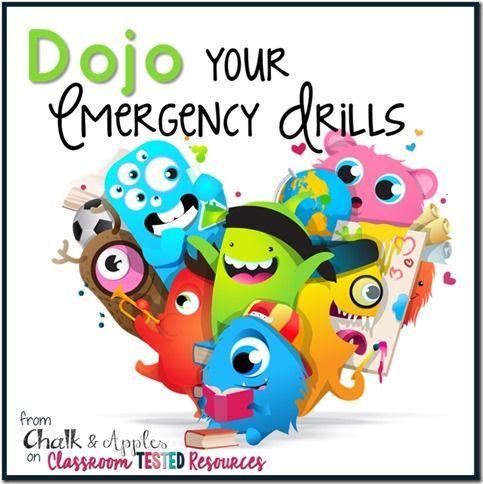 Dojo Your Emergency Drills - Using ClassDojo for smooth, organized emergency drills. | from Chalk & Apples