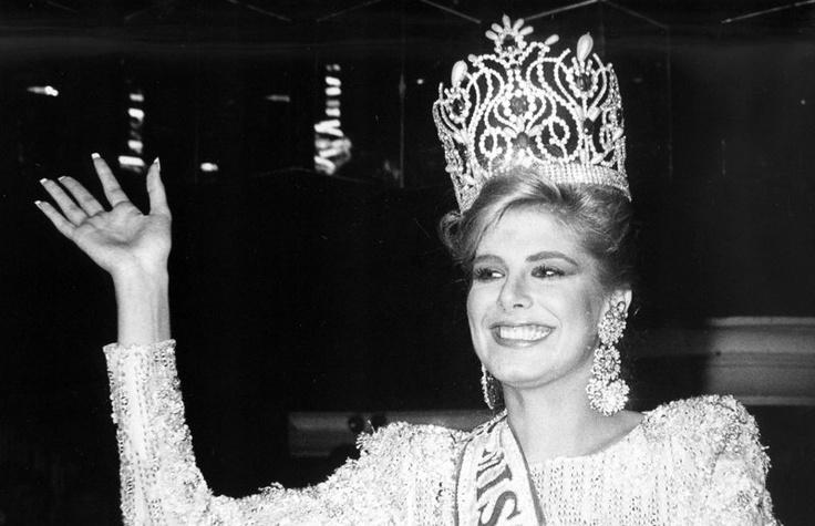 Miss Venezuela 1987 Inés María Calero