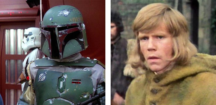 Jeremy Bulloch as Boba Fett and Hal the Archer in 'The Time Warrior'