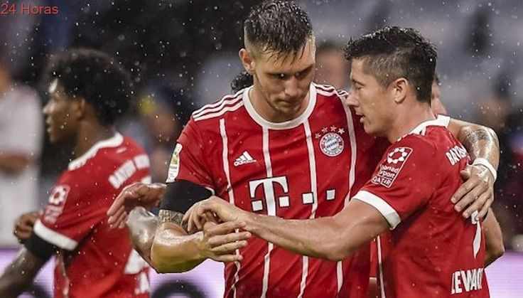 Bayern München sin Vidal recibe a Anderlecht en su estreno por la Champions League