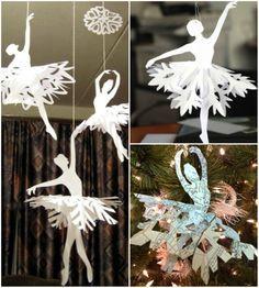 12Superideias para decorar sua casa com flocos deneve feitos depapel                                                                                                                                                                                 Mais