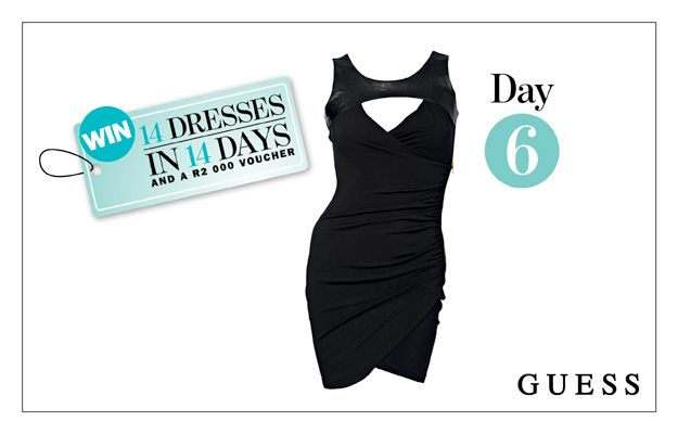 WIN: This Black Betzabeth Dress From GUESS