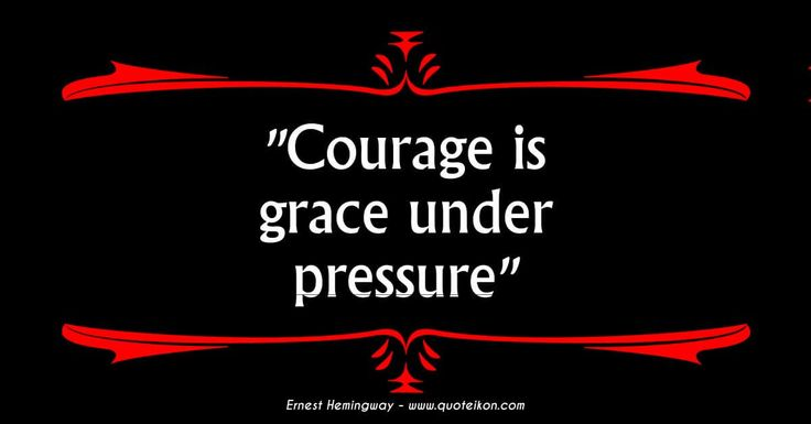Grace Under Pressure Quote: 25+ Best Ideas About Character Test On Pinterest