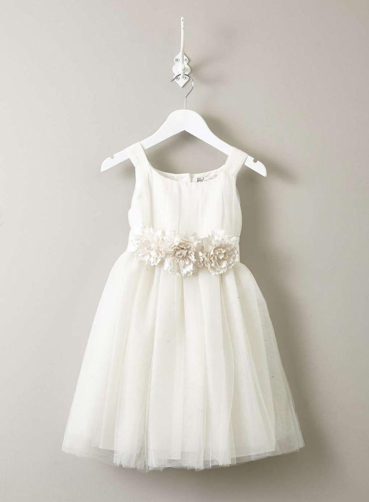 Best 25  Ivory flower girl dresses ideas on Pinterest | Flower ...