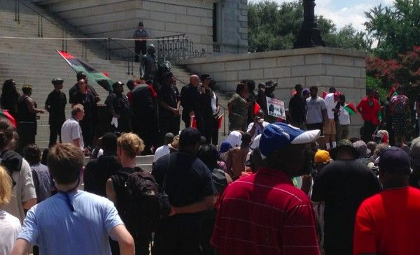 KKK Faces Off With New Black Panther Group in Heated, Competing Rallies at South Carolina Statehouse - http://www.theblaze.com/stories/2015/07/18/kkk-faces-off-with-new-black-panther-group-in-heated-competing-rallies-at-south-carolina-statehouse/?utm_source=TheBlaze.com&utm_medium=rss&utm_campaign=story&utm_content=kkk-faces-off-with-new-black-panther-group-in-heated-competing-rallies-at-south-carolina-statehouse