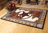 Southwestern Rugs and Cowhide Rugs at Lone Star Western Decor #CowhideRugs
