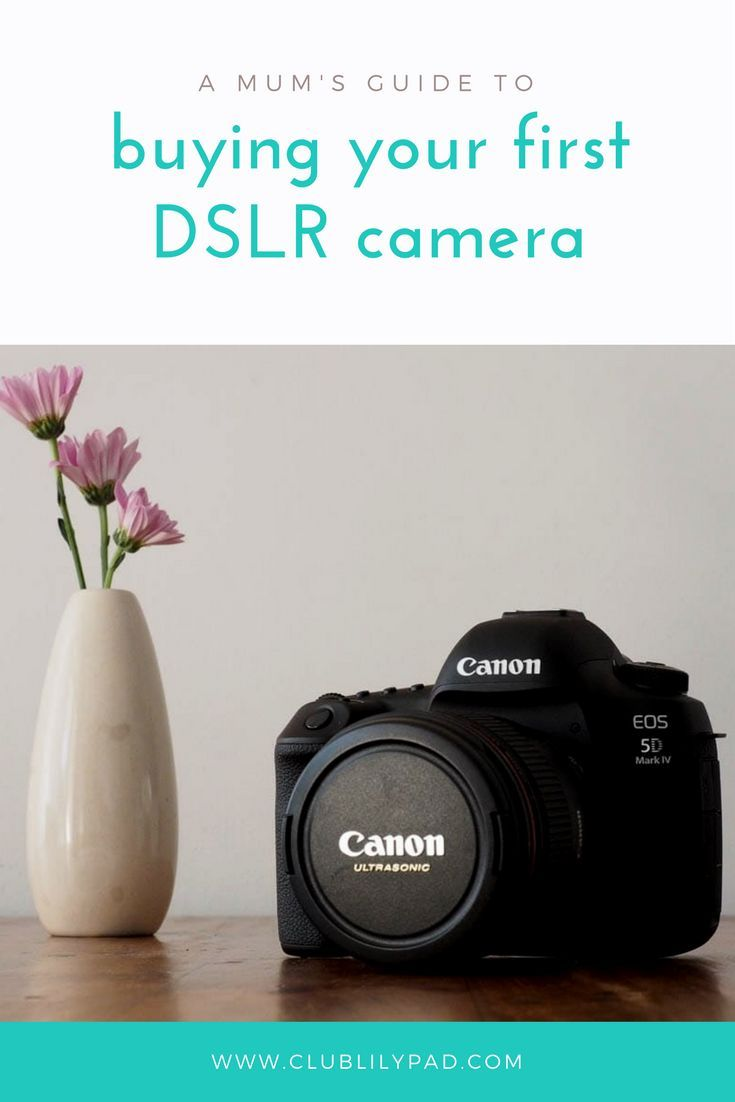 A Mum's guide to buying your first DSLR | Club Lilypad
