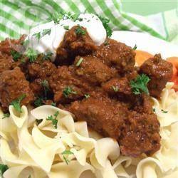 Ungarisches Gulasch aus dem Slow Cooker @ de.allrecipes.com