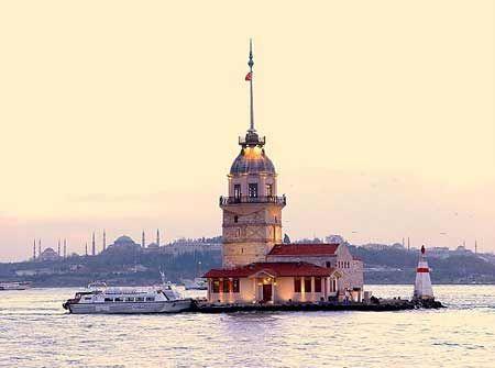 Maiden's Tower amidst Bosphorus | by Durukos Yachting