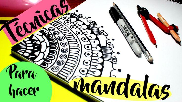 17 best ideas about dibujar mandalas on pinterest dibujar y colorear mandala art and mandalas - Mandala facile ...