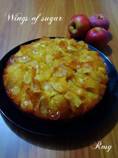 Torta di mele rovesciata, ricetta