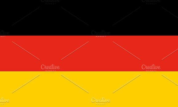 Flag of Germany. Europe #flags