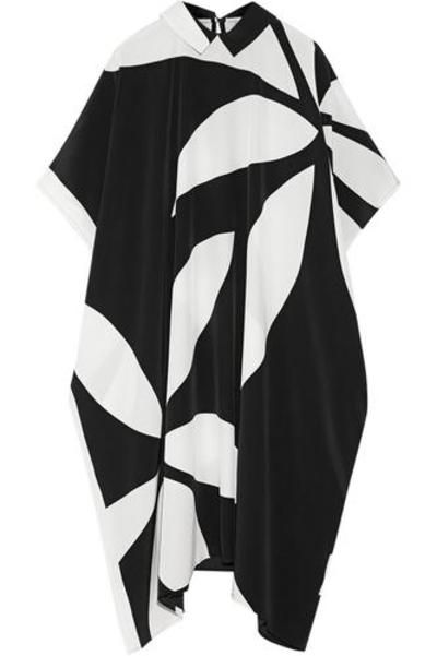 #covetmeMay Jean printed silk crepe de chine dress #printdress #women #covetme #issa