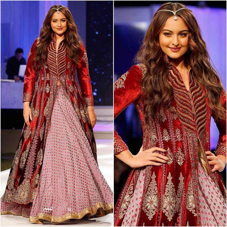 """#Bollywood #style #fashion #beauty #indianfashion #celebstyle #bollywoodstyle #sonakshisinha #jjvalaya"""""""