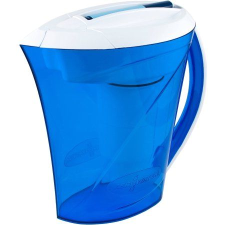 ZeroWater 10-Cup Ready-Pour Pitcher with Free TDS Light-Up Indicator (Total Dissolved Solids)
