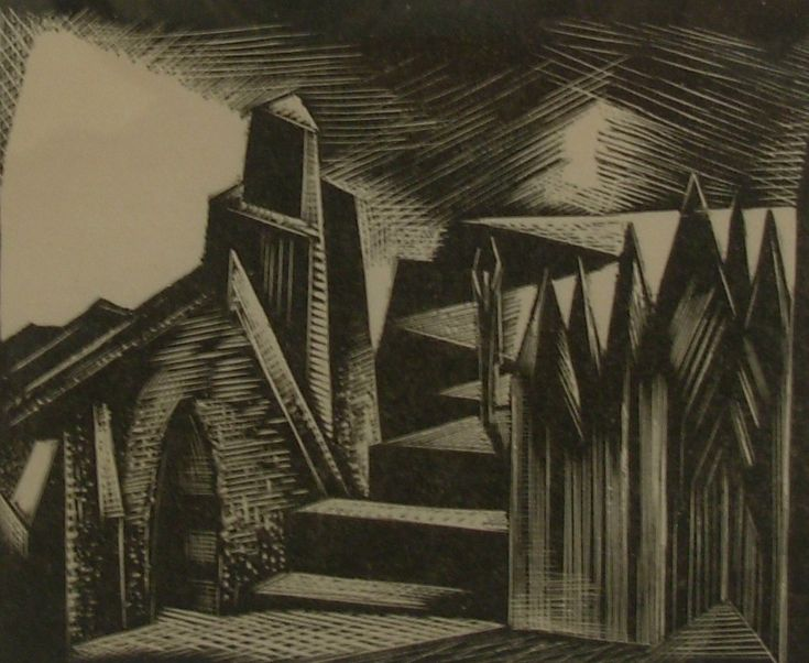 Paul Nash - The Valkyrie's Home