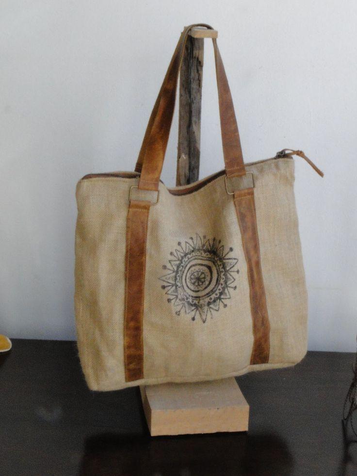 19 best images about bolsos tela de saco on pinterest - Tela de saco ...