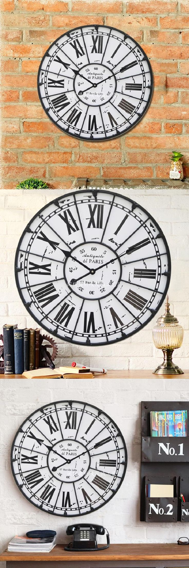Best 25 Large Wall Clocks Ideas On Pinterest Large