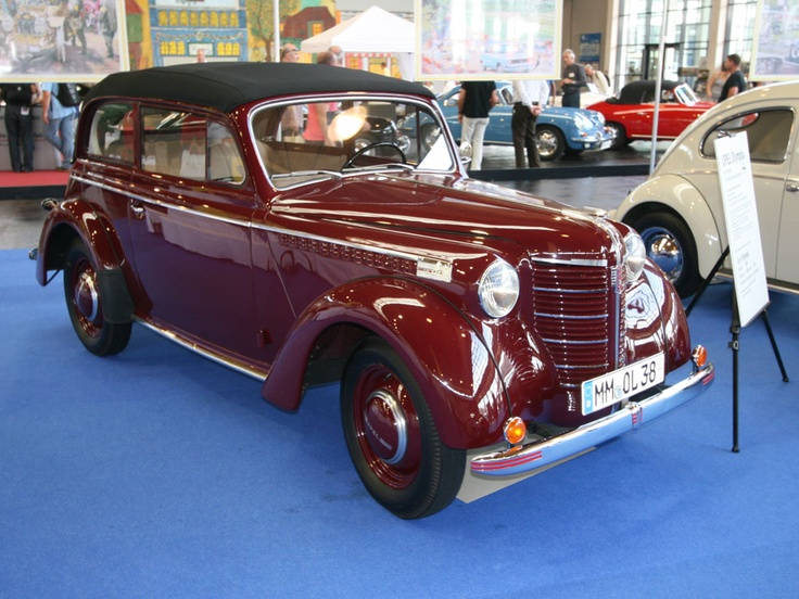 Opel (GM) Olympia Convertible
