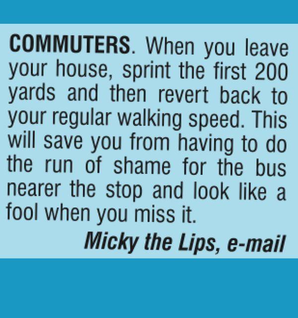Commuters.