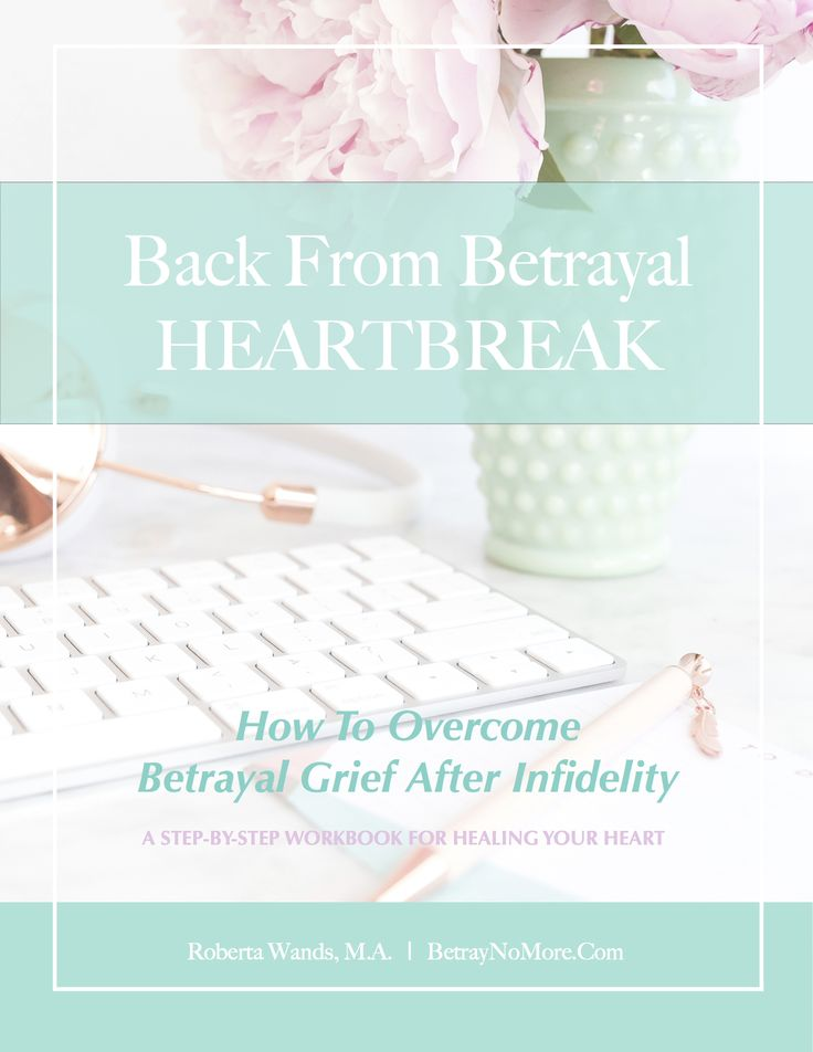 A Brand New Infidelity Grief Course And Workbook Will Be Available This Fall.