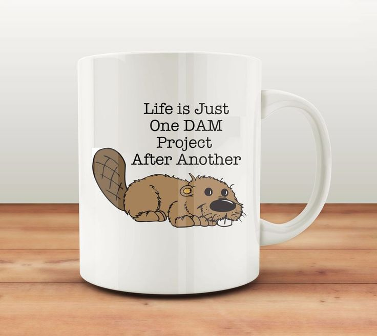 Unique Coffee Mugs Online Part - 26: Unique Coffee Mug | Beaver Funny Cofee Cup | FREE SHIPPING!