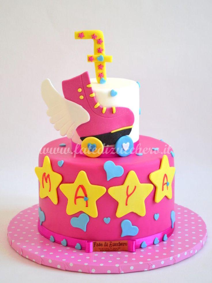 Torta Soy Luna e il Pattinaggio | | Fate di Zucchero - Cake Designers