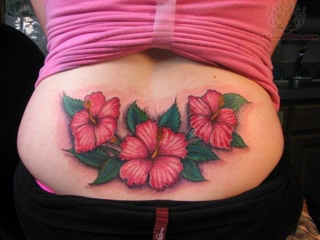 Lower Back Flower Tattoos: 30 Best Flowers Lower Back Tattoos Images On Pinterest