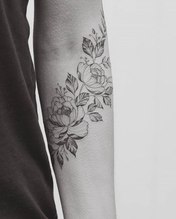 flower ink & placement