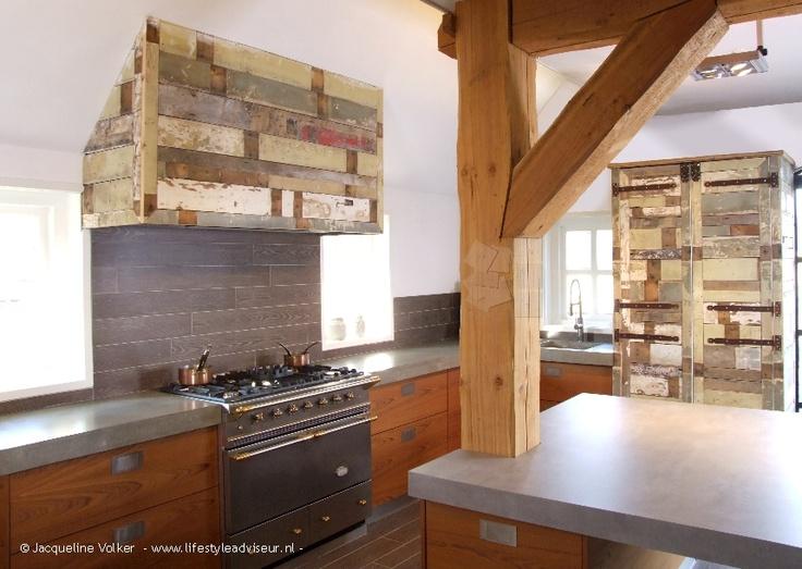 8 best portfolio sloophout keuken interieurontwerp for Keuken van sloophout