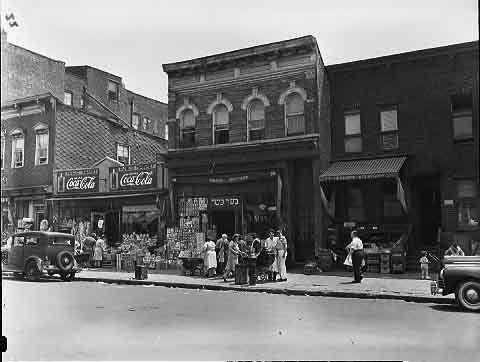 brownsville brooklyn new york   Dumont Avenue near Watkins Street in Brownsville, Brooklyn, July 1942 ...