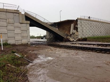 Flooding Causes Highway Closures and Flooding in Eastern Wyoming
