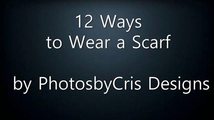 12 Ways to Wear a Scarf by PhotosbyCris Designs3