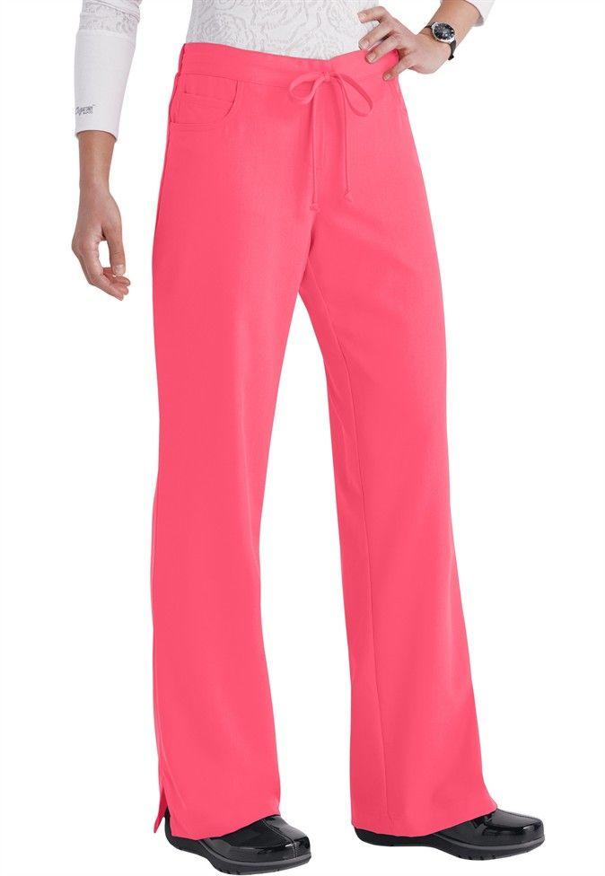 Grey's Anatomy 5-pocket drawstring scrub pants (style 4232)