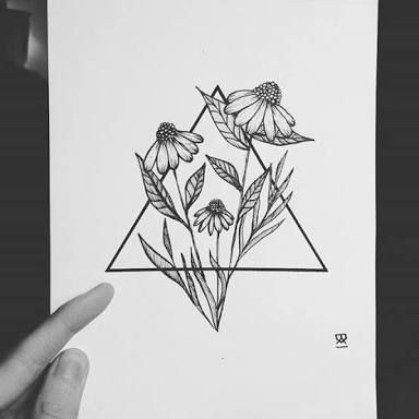Another lovely geometric wild flowers