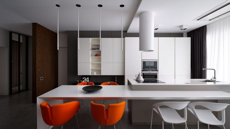 Minimalist Apartment by Azovskiy&Pahomova Architects