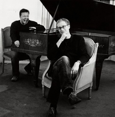 Ricky Gervais and Stephen Merchant, geniuses