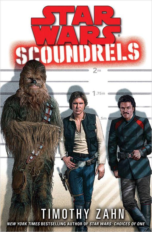Han, Chewie, and Lando starring in an Oceans 11-style heist novel written by Timothy Zahn? Yes, please!