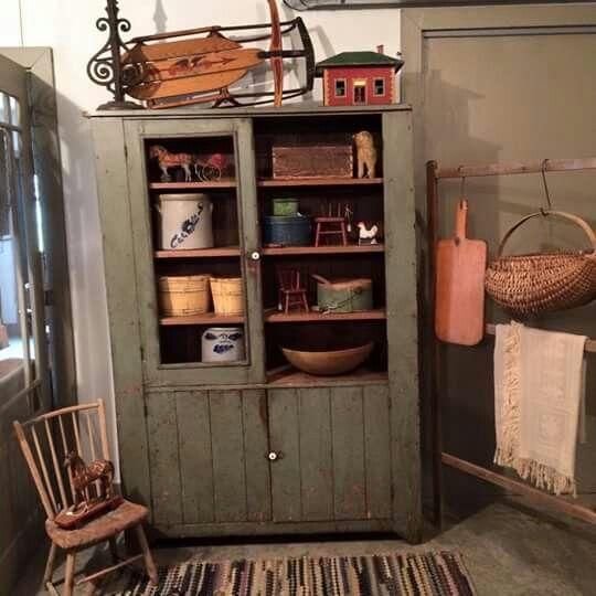 Susan Shire Antiques - 3184 Best Primitive Cupboards Images On Pinterest Antique