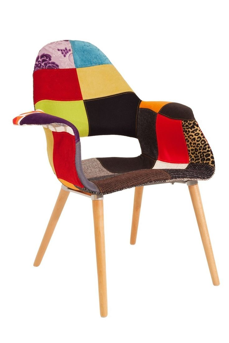 Replica Eames Saarinen Organic Patchwork Chair - Stools & Chairs