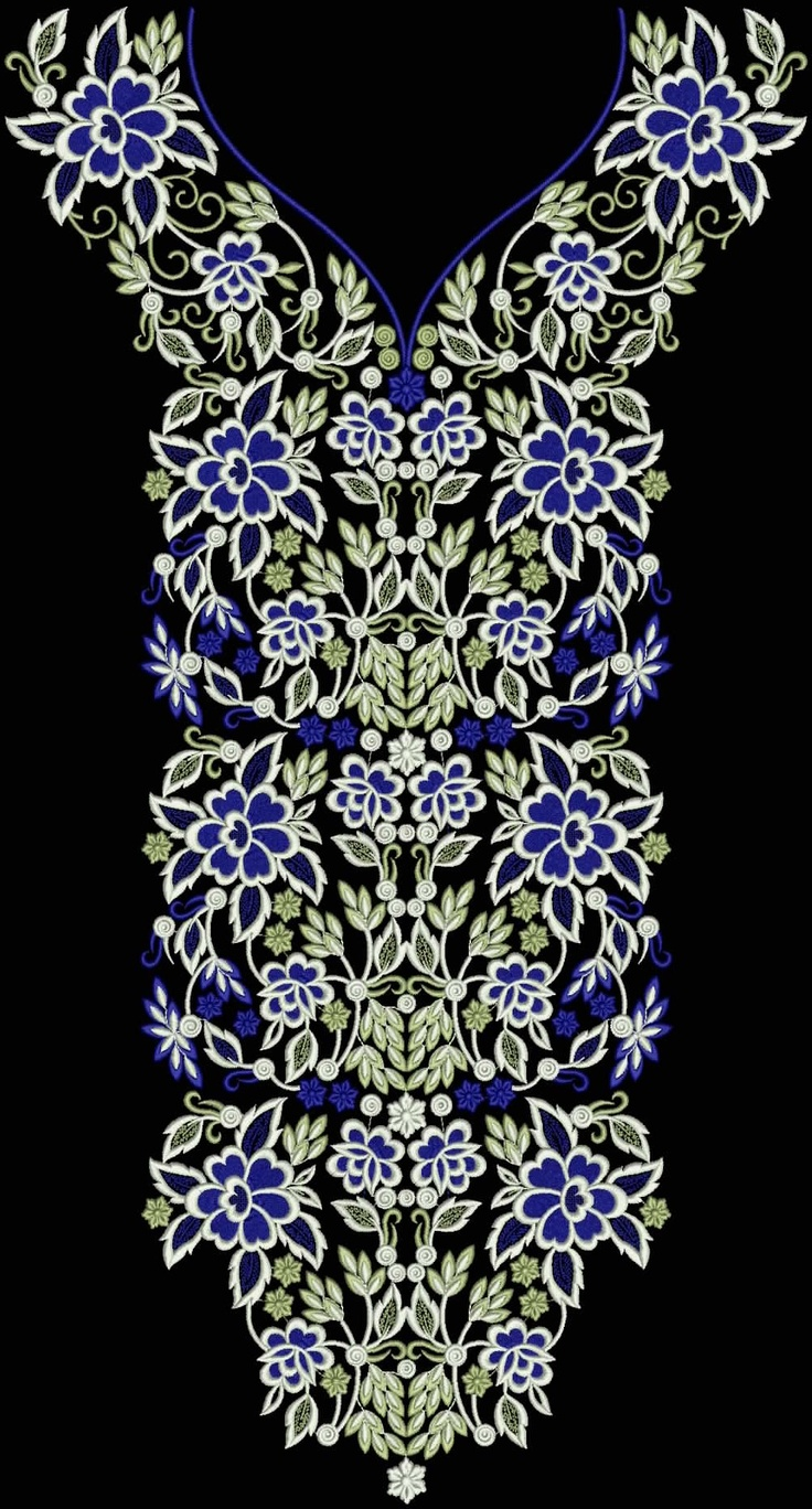 Latest Embroidery Designs For Sale, If U Want Embroidery Designs Plz Contact (Khalid Mahmood, +92-300-9406667)  www.embroiderydesignss.blogspot.com  Design# Ruksa26