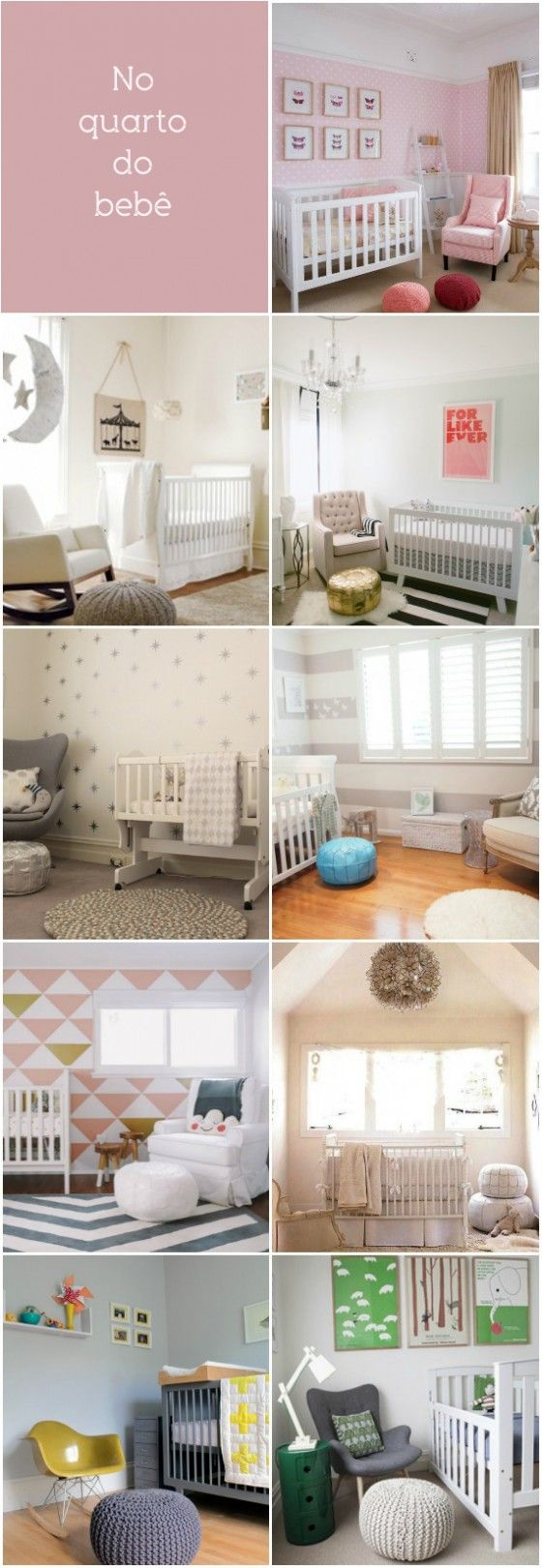 pouf in baby's room