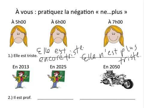 La négation 1iere partie - YouTube