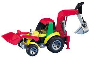 Bruder Roadmax Loader Backhoe Construction Toy