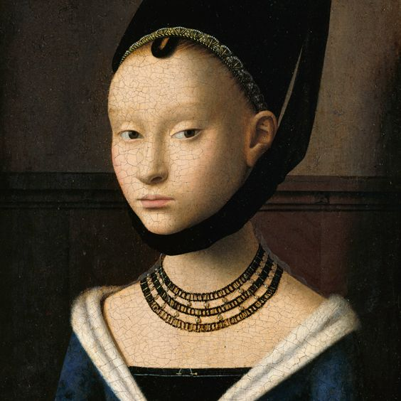 Petrus Christus – Portrait of a Young Girl (c. 1470)